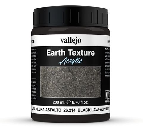 Diorama Effects Black Lava-Asphalt 200 ml.