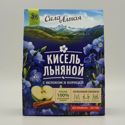 Кисель льняной с яблоком и корицей СПЕЦИАЛИСТ, 150 гр