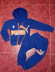 Спортивный костюм Пума, двухнитка