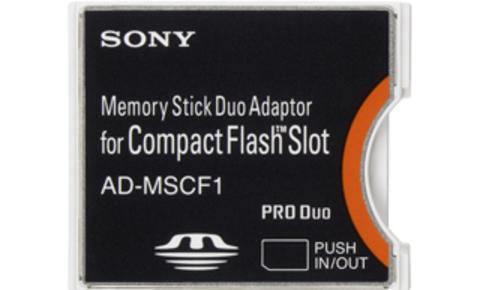 Переходник из  Memory Stick Duo в CF  SONY AD-MSCF1
