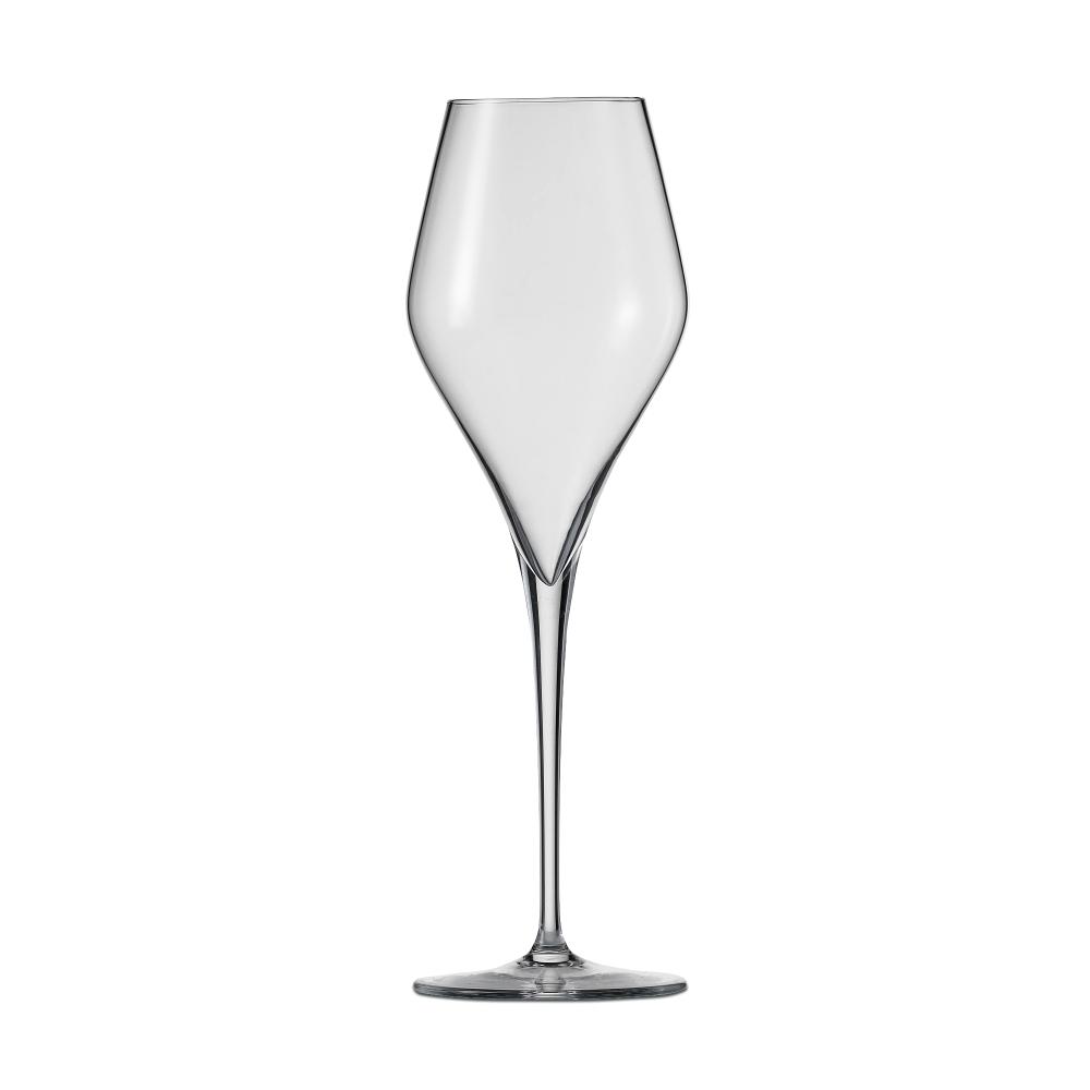 Набор из 6 фужеров для шампанского 298 мл SCHOTT ZWIESEL Finesse арт. 118 607-6Бокалы и стаканы<br>Набор из 6 фужеров для шампанского 298 мл SCHOTT ZWIESEL Finesse арт. 118 607-7<br><br>вид упаковки: подарочнаявысота (см): 23.8диаметр (см): 7.5материал: хрустальное стеклоназначение: для шампанскогообъем (мл): 298предметов в наборе (штук): 6страна: Германия<br>Оригинальный дизайн винных бокалов серии Finesse привлекает внимание четкой геометрией чаши и высокой, сужающейся книзу ножкой, придающей изделию утонченную изысканность. Изделия коллекции изготовлены из высококачественного хрустального стекла, не содержащего бария и свинца по уникальной технологии Tritan Protect.<br>Благодаря использованию технологии Tritan бокалы серии Finesse получили такие свойства как высокая ударопрочность, легкость, чистейшая прозрачность и яркий блеск.<br>Элегантная коллекция, представляющая собой великолепный образец классического стиля и современного дизайна, включает в себя наборы бокалов для шампанского, красного и белого вина. Любой из этих изящных наборов достойно украсит любую сервировку, от повседневной до праздничной.<br>Официальный продавец SCHOTT ZWIESEL<br>