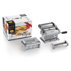 Marcato Pasta Set 150 mm Classic (Atlas pasta maker with cutter spaghetti fettuccine taglioline attachment ravioli)