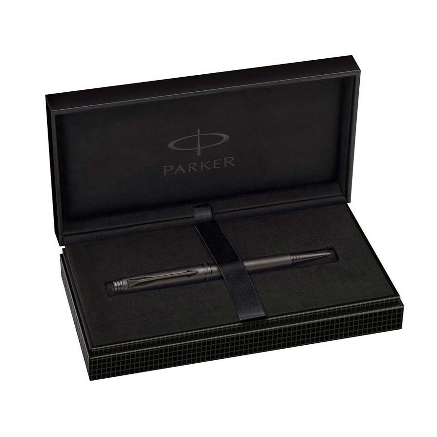 Parker Premier - Monochrome Black Edition PVD, шариковая ручка, M, BL