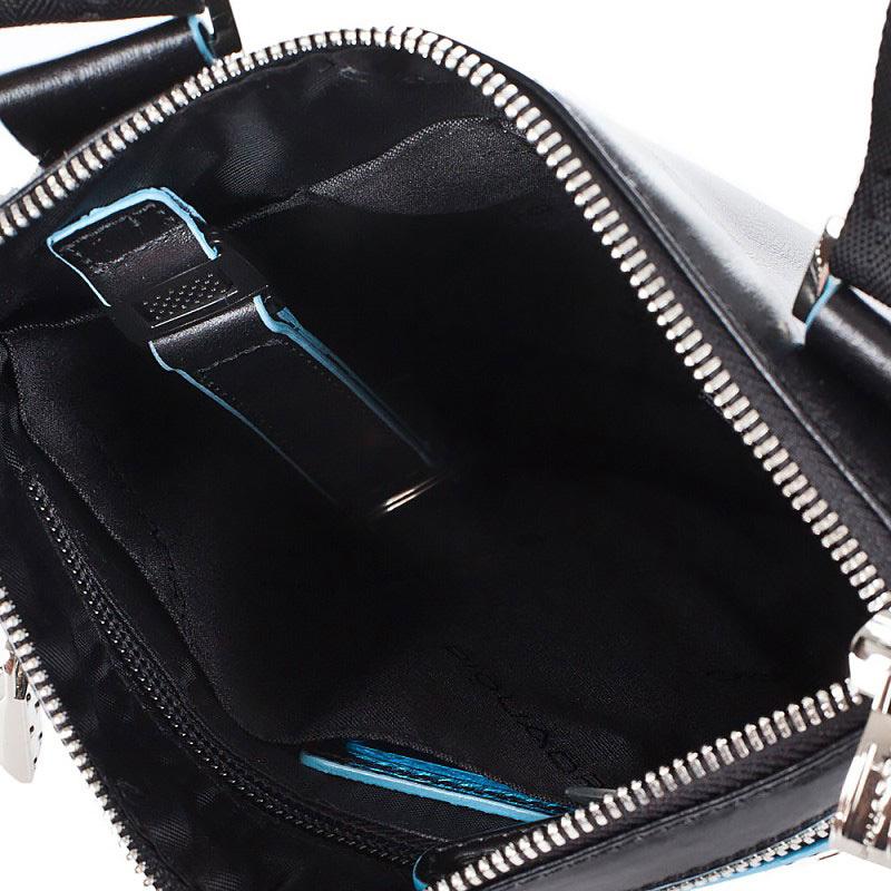 Сумка Piquadro Blue Square, цвет черный, 22x25x2 см (CA1358B2/N)