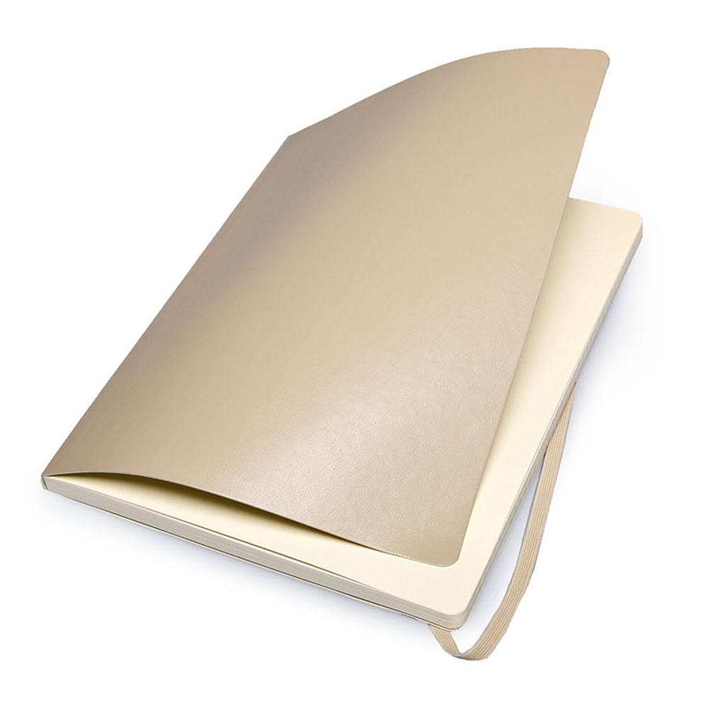 Блокнот Moleskine Classic Soft XL, цвет бежевый, в линейку