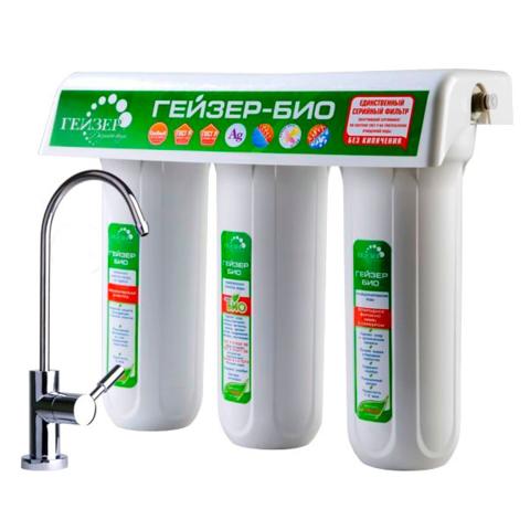 Квартирный фильтр Гейзер Био №321 для жёсткой воды