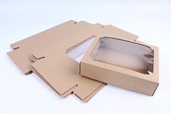 Коробка-трансформер (МГК) Крафт 19х15 h=5 см.