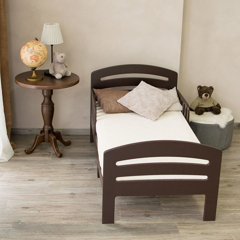 Кровать подростковая Феалта-baby Лахта, шоколад