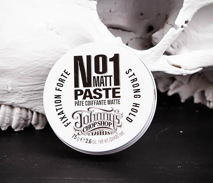 CARE102 Паста для укладки волос Johnny's Chop Shop №1 с матирующим эффектом (75 гр.)