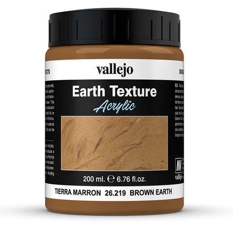 Diorama Effects Brown Earth 200 ml.