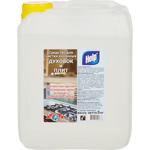 Средство для чистки плит HELP 5л.
