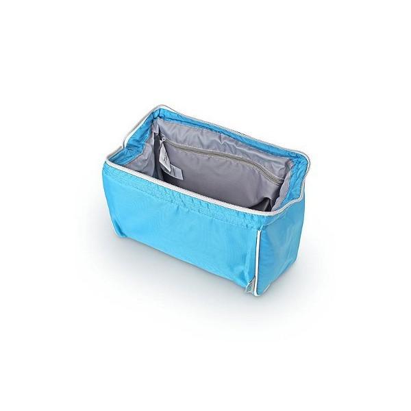 Сумка-холодильник (термосумка) для косметики Cosmetic Bag Silver, 3.5L