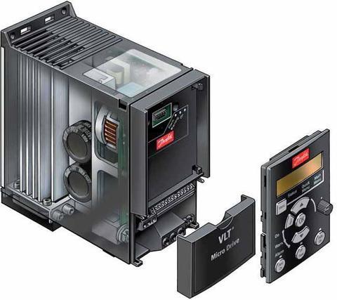 Частотный преобразователь Danfoss VLT Micro Drive FC 51 (0,75 кВт, 380В, 3 ф.) 132F0018