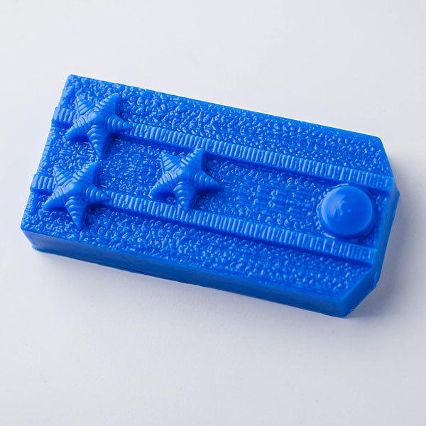 Пластиковая форма для мыла Погон