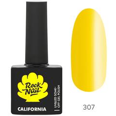 Гель-лак RockNail California 307 Pineapple, 10мл.