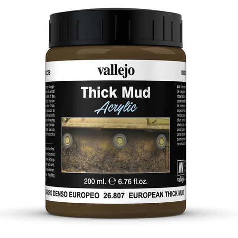 Diorama Effects European Thick Mud 200 ml.