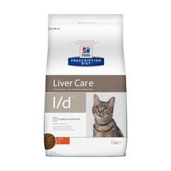 Hill's Prescription Diet l/d Liver Care сухой диетический корм для кошек при заболеваниях печени