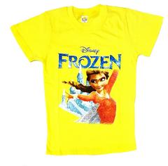 Холодное сердце футболка девочкам Эльза