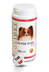 """POLIDEX """"Супер Вул Плюс"""" улучшает состояния кожи, шерсти и когтей у щенков и собак мелких и средних пород"""
