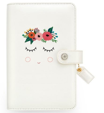 Планер с наполнением. Не датирован.- Color Crush Faux Leather Personal Planner Kit by Websters Pages- Sweet Caroline