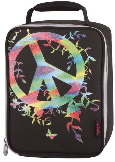 Термосумка детская Thermos Peace Sign (черная)*