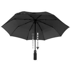 Зонт Euroschirm Light Trek Automatic с фонариком Black