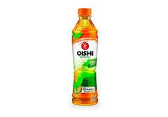 Японский зеленый чай со вкусом злаков Oishi, 380мл