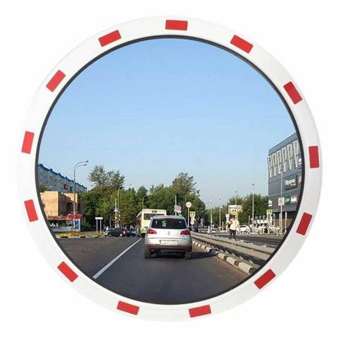 Зеркало Круглое со светоотражающей окантовкой
