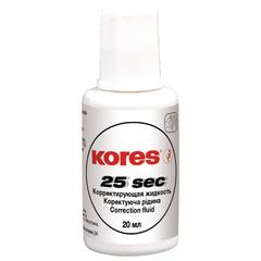 Корректирующая жидкость на быстросохн.основе 20мл KORES ?66817