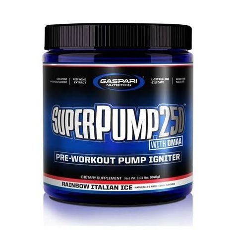 Gaspari Nutrition Super Pump 250 1.3 DMAA