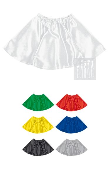 Юбка из креп - сатина дополнит наряд для яркого танцевального номера или станет основой для карнавального костюма.