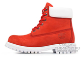 Ботинки Женские Timberland 17061 Waterproof Red White