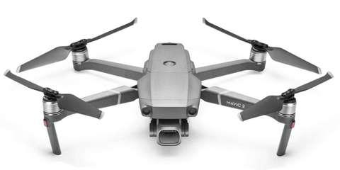 Квадрокоптер DJI Mavic 2 Pro вид сверху