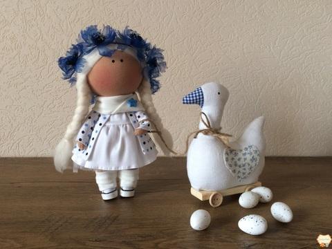 Лялька Скарлет і гусак Каміль. Колекція La Petite.