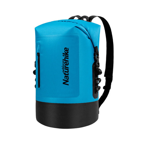 Гермомешок Naturehike Membrane Wet-Dry Bag, с лямками, 30л.