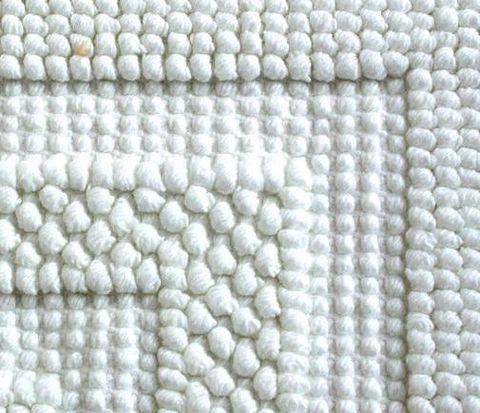 Коврик для ванной 65х90 Luxberry Универсальный белый