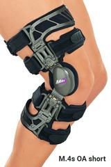 Жесткий коленный ортез для лечения остеоартроза укороченный M.4s OA short