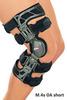 Жесткие коленные ортезы для лечения остеоартрозов укороченные M.4s OA short