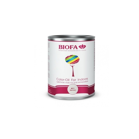 8511 Color-Oil For Indoors. Арктика. Белое укрывистое масло