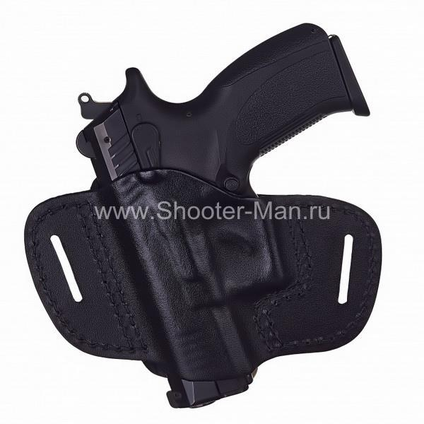 Кобура кожаная для пистолета Grand Power Т 10 и Т 12 поясная ( модель № 1 )
