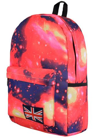 Рюкзак космос красный