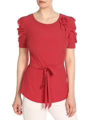 WP6502F-3 блузка женская, красная