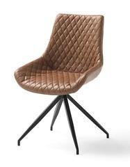 Крутящийся стул DUPEN DC-118 коричневый
