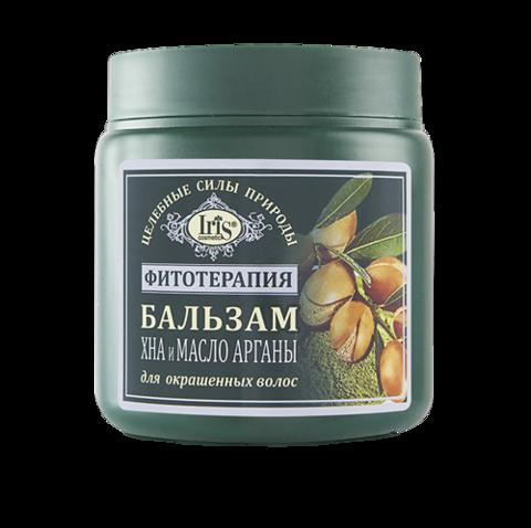 Iris Фитотерапия Бальзам Хна и масло арганы 500 мл