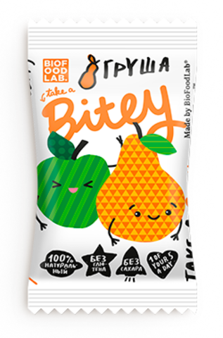 Bitey батончик фруктово-ягодный