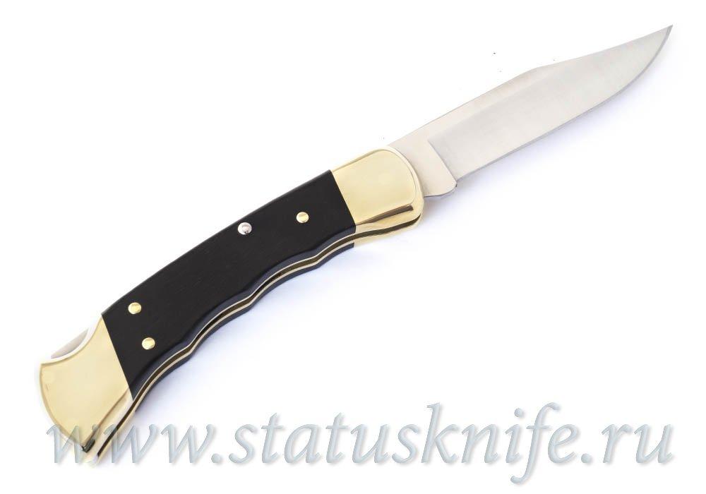 Складной нож, Buck 110BRSFG Folding Hunter Finger Grooved - фотография