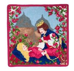 Элитная наволочка декоративная шенилловая Marchen Sleeping Beauty от Feiler