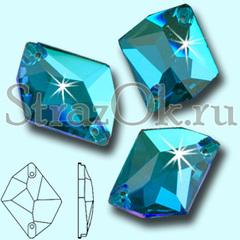 Узнайте где купить стразы пришивные Cosmic Blue Zircon оптом