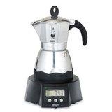Кофеварка гейзерная электрическая Bialetti &#34Moka timer&#34 120 мл, артикул 6092, производитель - Bialetti