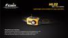 Купить Налобный светодиодный фонарь Fenix HL22 жёлтый 120 люмен (модель 34001) по доступной цене
